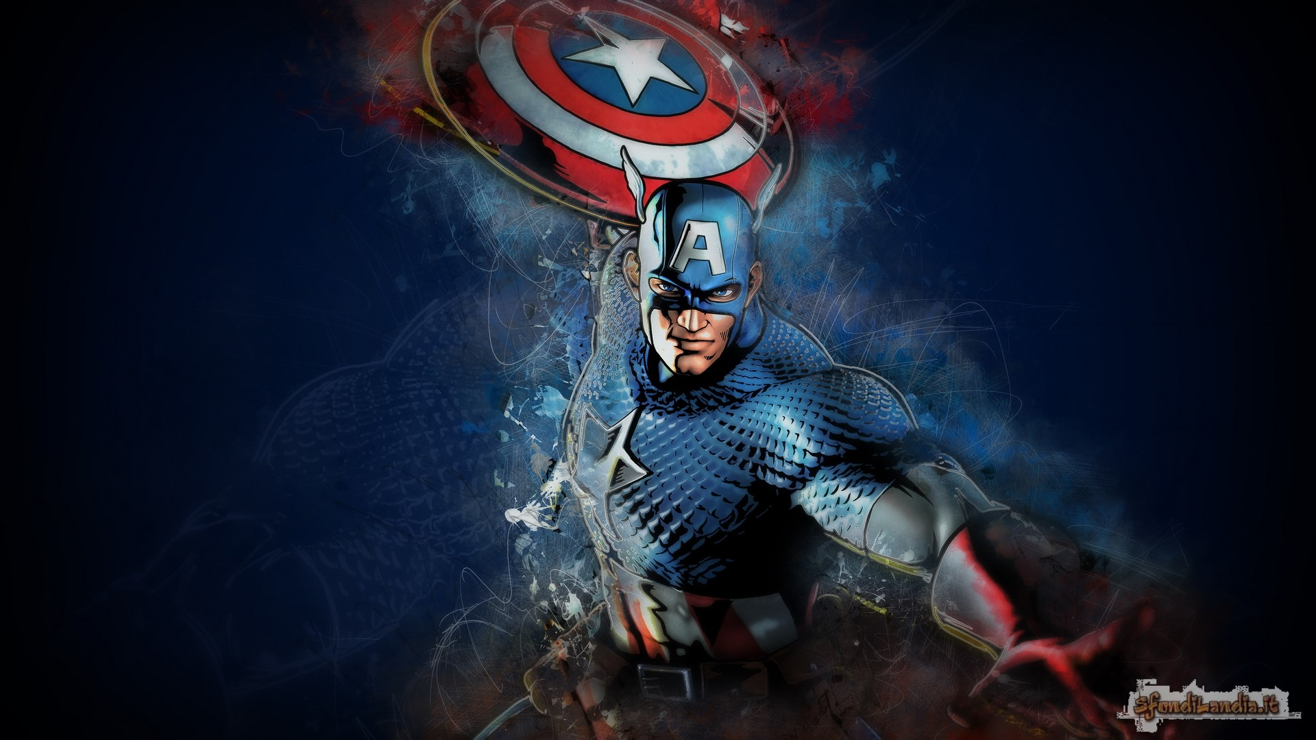 Cap And His Shield