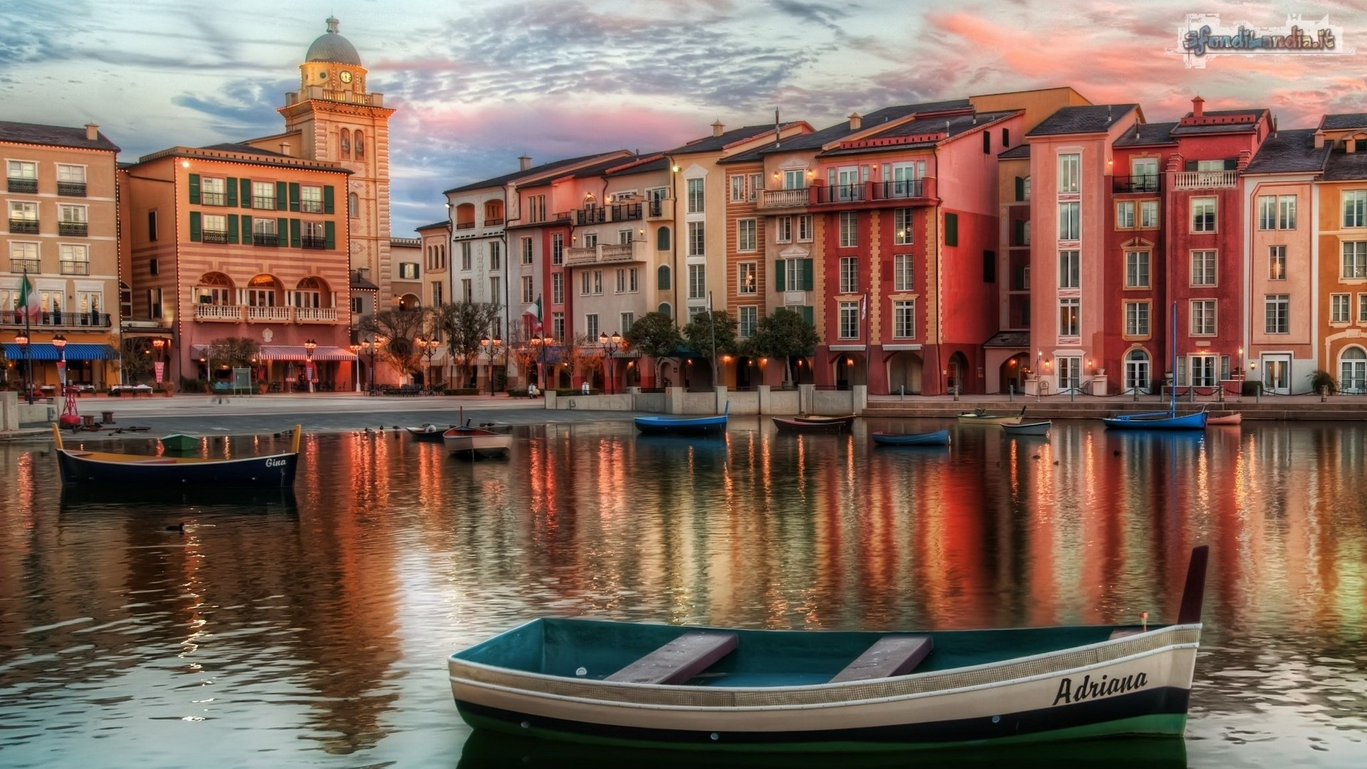 Sfondo gratis di case a venezia per for Sfondilandia mare