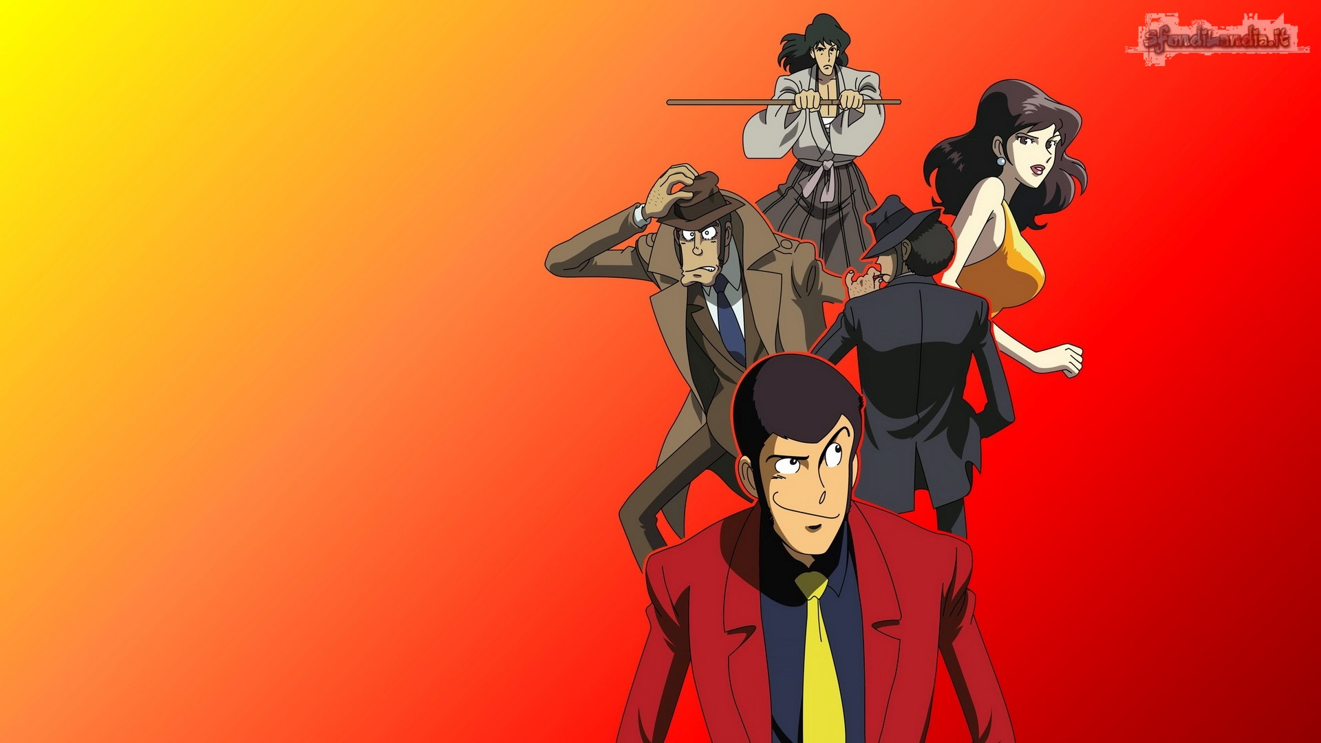 Lupin And Friends