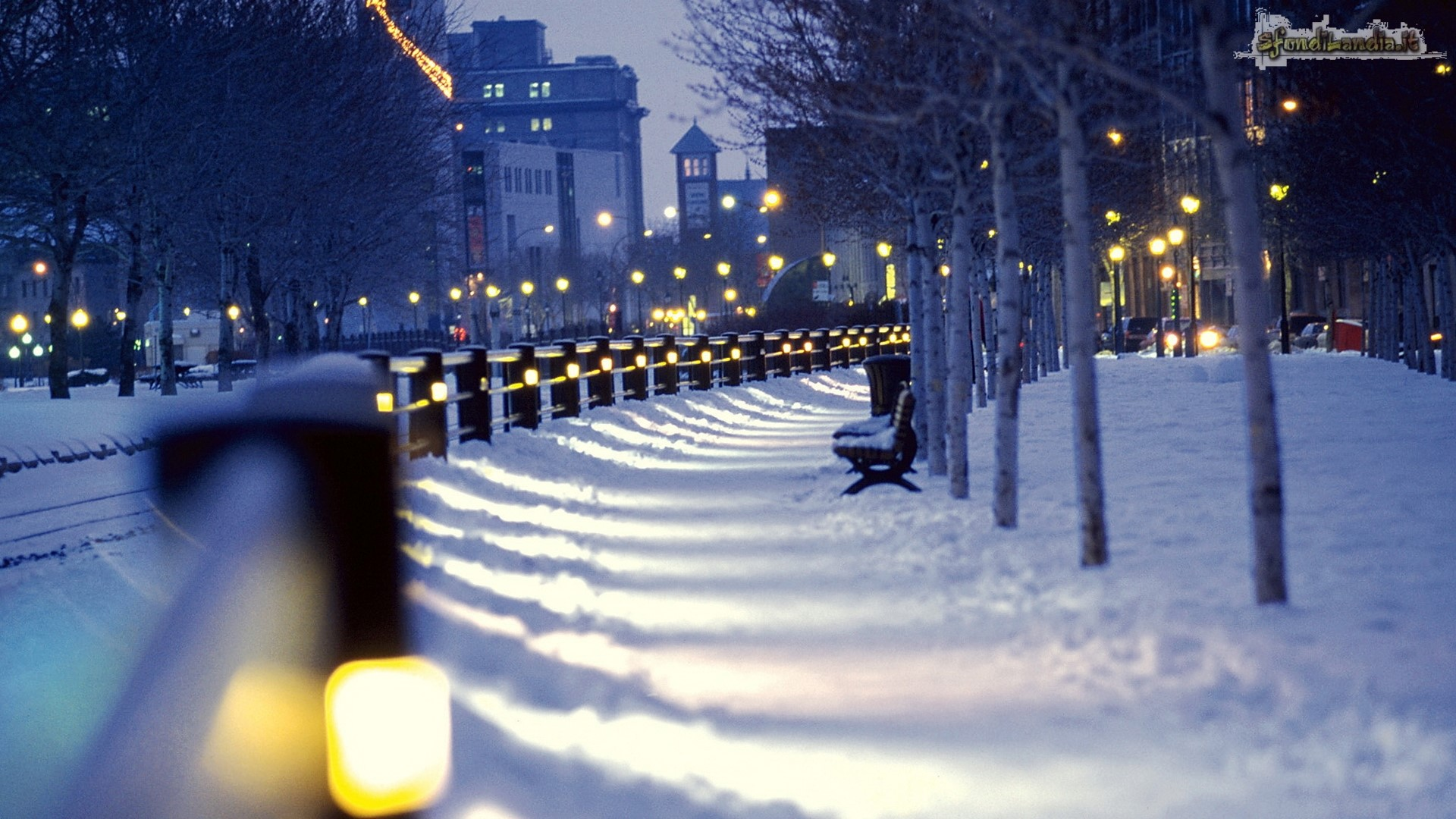 Montreal In The Winter