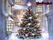 Sfondo: Natale in paese