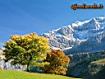 Sfondo: Il cielo delle Alpi