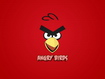 Sfondo: Angry Birds Red