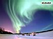 Sfondo: Aurora Boreale Alaska