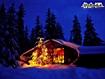 sfondi Baita di Natale