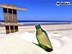 Sfondo: Bottle On Beach