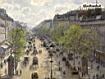 Sfondo: Boulevard Montmartre