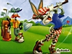 Bugs Bunny a golf
