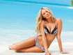 Sfondo: Candice On Beach