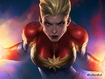 Sfondo: Captain Marvel Power