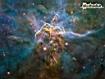 Sfondo: NGC 3372 (Carina)