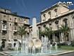 Sfondo: Fontana a Catania