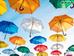 Sfondo: Colored Umbrellas