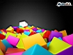 Sfondo: Colored Cubes