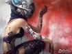 Sfondo: Cyborg Woman