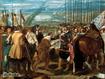 Sfondo: La resa di Breda