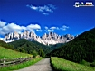 Sfondo: Dolomiti