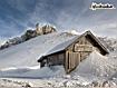 Sfondo: Baita sulle Dolomiti