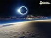 Sfondo: Eclissi solare