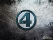 Sfondo: Fantastici 4 Logo