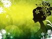 Sfondo: Flower Lady