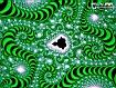 Sfondo: Frattale smeraldo