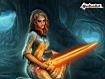 Sfondo: Glowing Sword