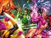 Sfondo: Green Lantern Fighting