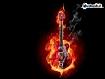 Sfondo: Guitar Fire