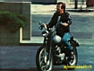 Fonzie in moto
