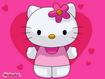 Sfondo: Hello Kitty cuori
