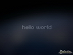 Sfondo: Hello World