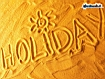 Holiday In The Sand