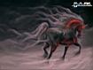 Sfondo: Unicorno nero