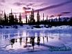 Sfondo: Lago ghiacciato