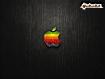 Sfondo: Logo Apple