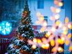 Sfondo: Luci di Natale