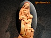 Sfondo: Vergine Maria