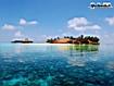 Sfondo: Isola delle Maldive