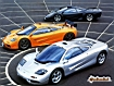 Sfondo: McLaren su strada