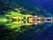 Sfondo: Villaggio montano