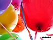Sfondo: Palloncini colorati