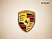 Sfondo: Logo Porsche
