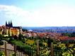 Sfondo: Veduta di Praga
