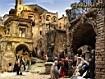 Sfondo: Presepe Orvieto scorcio