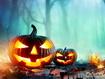 Sfondo: Pumpkins In The Woods