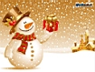 Sfondo: Pupazzo di Natale