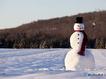 Sfondo: Pupazzo di neve