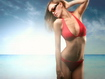 Sfondo: Red Bikini Girl