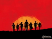 Sfondo: Red Dead Sunset